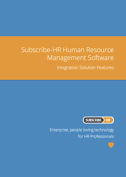 Subscribe-HR Human Resource Management Software Integration Solution Features