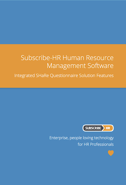 Subscribe-HR Human Resource Management Software SHaRe Solution Features