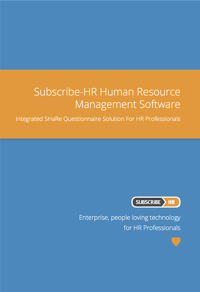 Subscribe-HR Human Resource Management Software SHaRe Solution