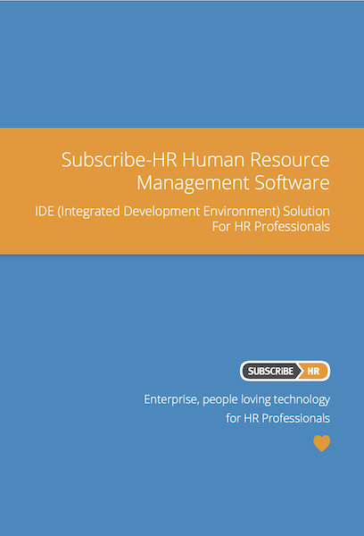 Subscribe-HR Human Resource Management Software IDE Solution