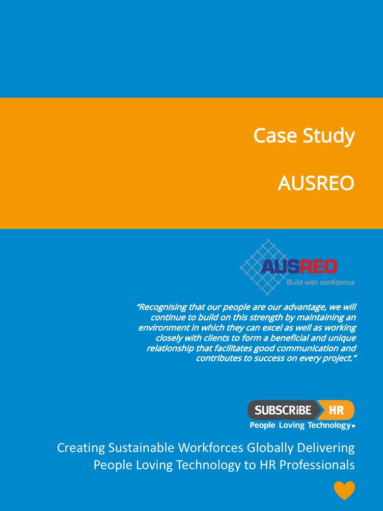 Subscribe-HR AUSREO Case Study