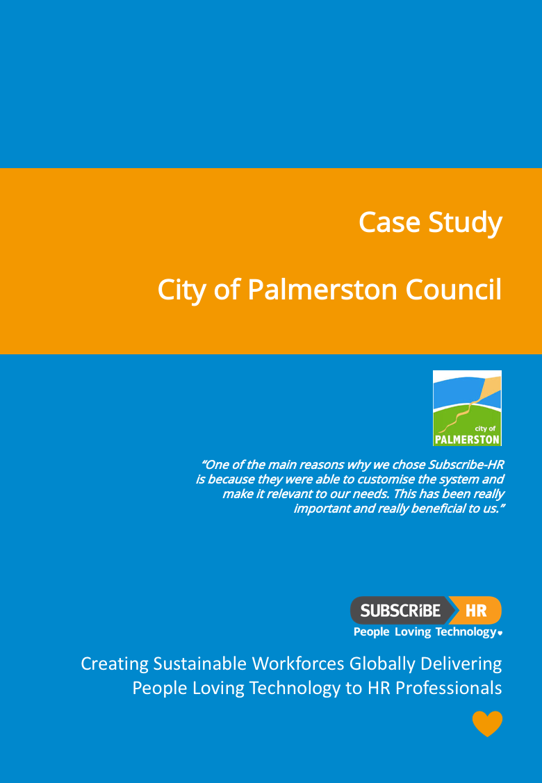 Subscribe-HR City of Palmerston Case Study