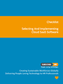 Subscribe-HR Checklist Selecting and Implementing Cloud SaaS HR Software