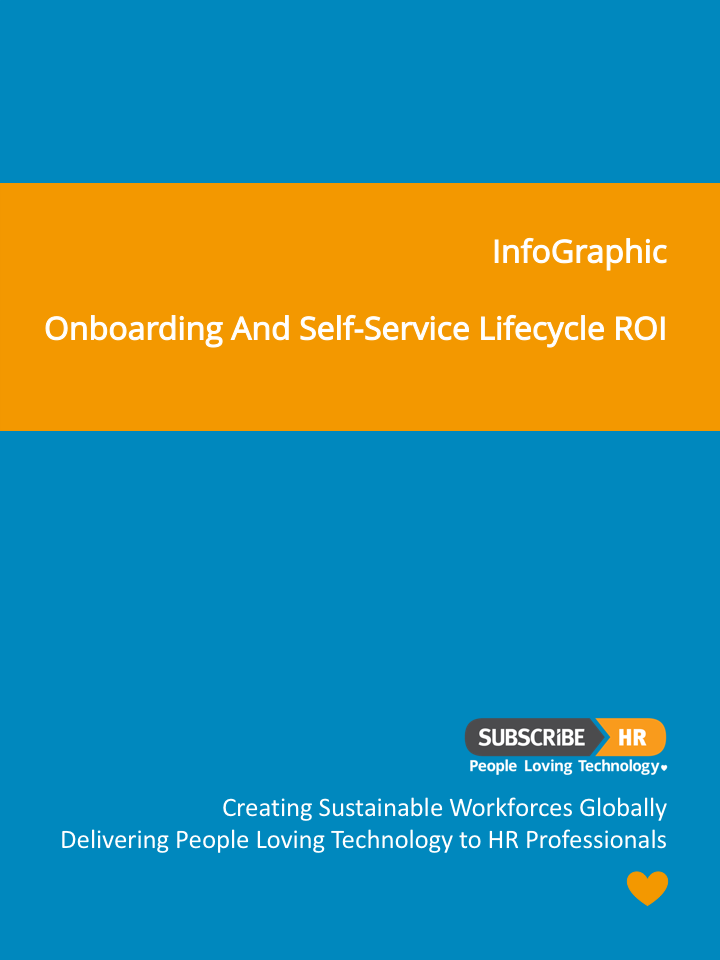 Subscribe-HR InfoGraphic On-Boarding and Self-Service Lifecycle ROI