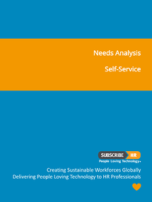 Subscribe-HR Needs Analysis Self-Service