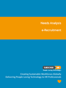Subscribe-HR Needs Analysis e-Recruitment