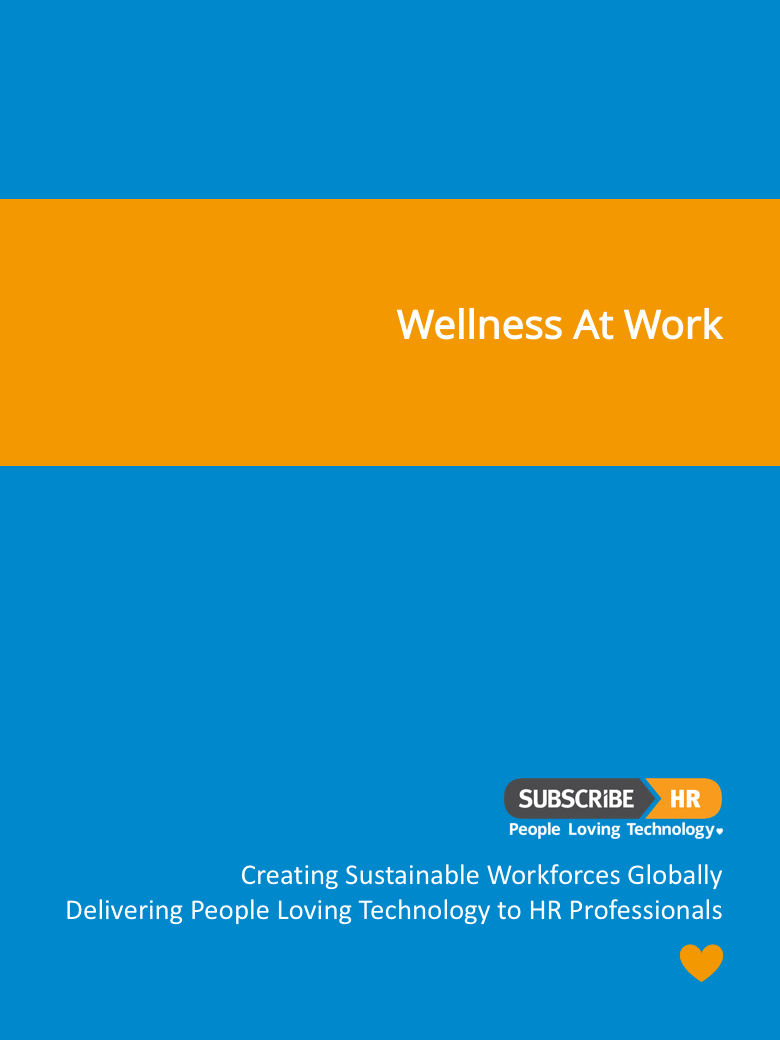 Subscribe-HR Resources Wellness At Work