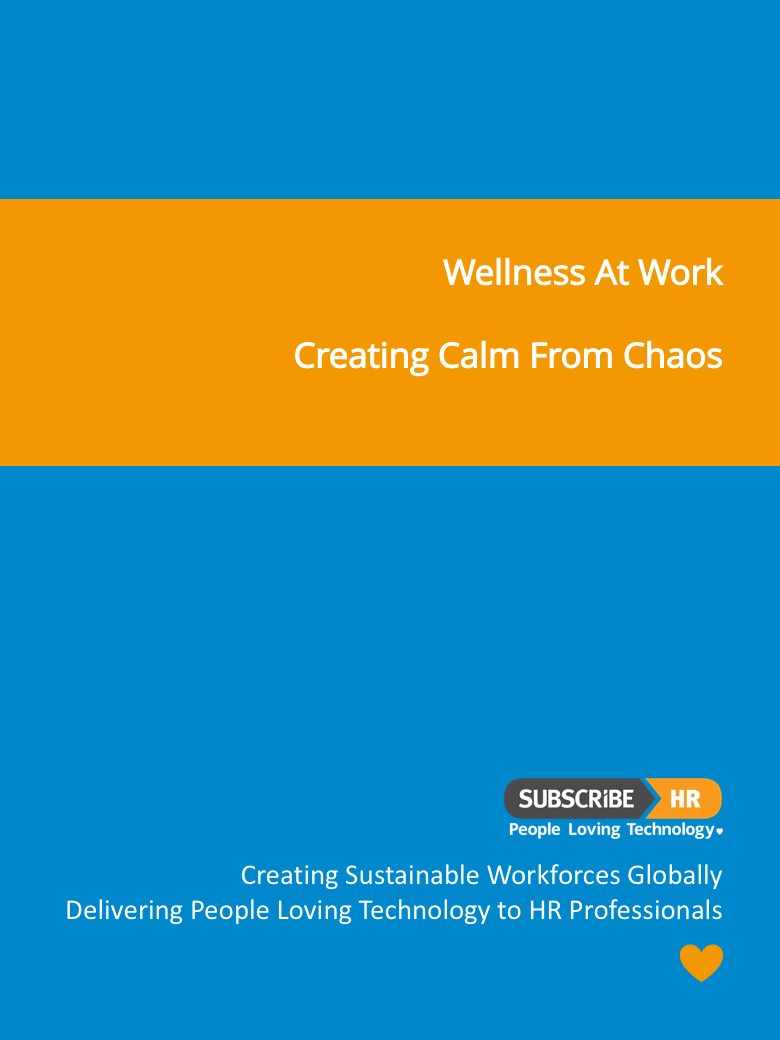 Subscribe-HR Wellness At Work Creating Calm from Chaos