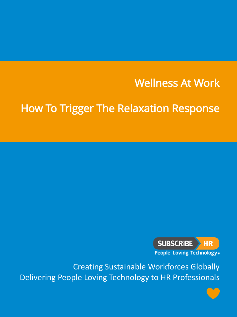 Subscribe-HR Wellness At Work The Relaxation Response