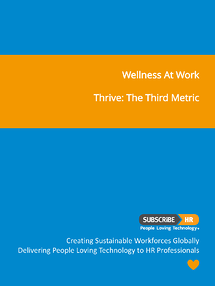 Subscribe-HR Wellness At Work Thrive - The Third Metric