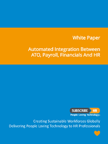 Subscribe-HR White Paper Automated Integration with ATO, Financials, Payroll and HR