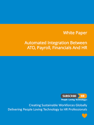 Subscribe-HR White Paper ATO Financials Payroll Integration