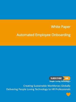 Subscribe-HR White Paper Automated Employee Onboarding