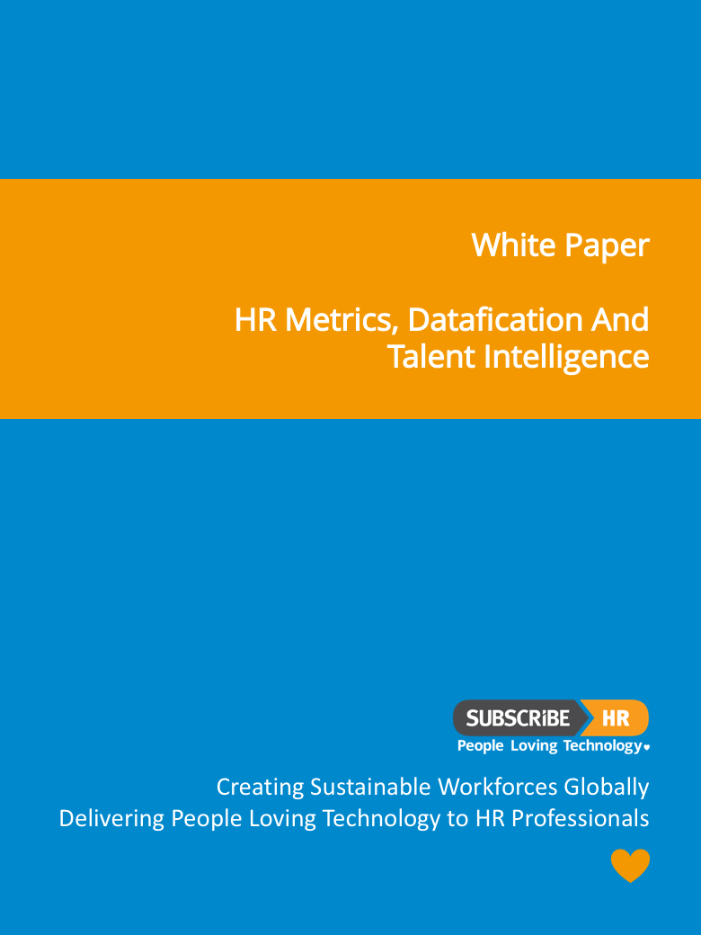 Subscribe-HR White Paper HR Metrics Datafication And Talent Intelligence