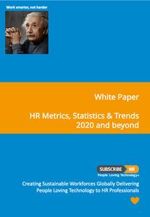 Subscribe-HR White Paper HR Metrics Statistics 2020 Trends