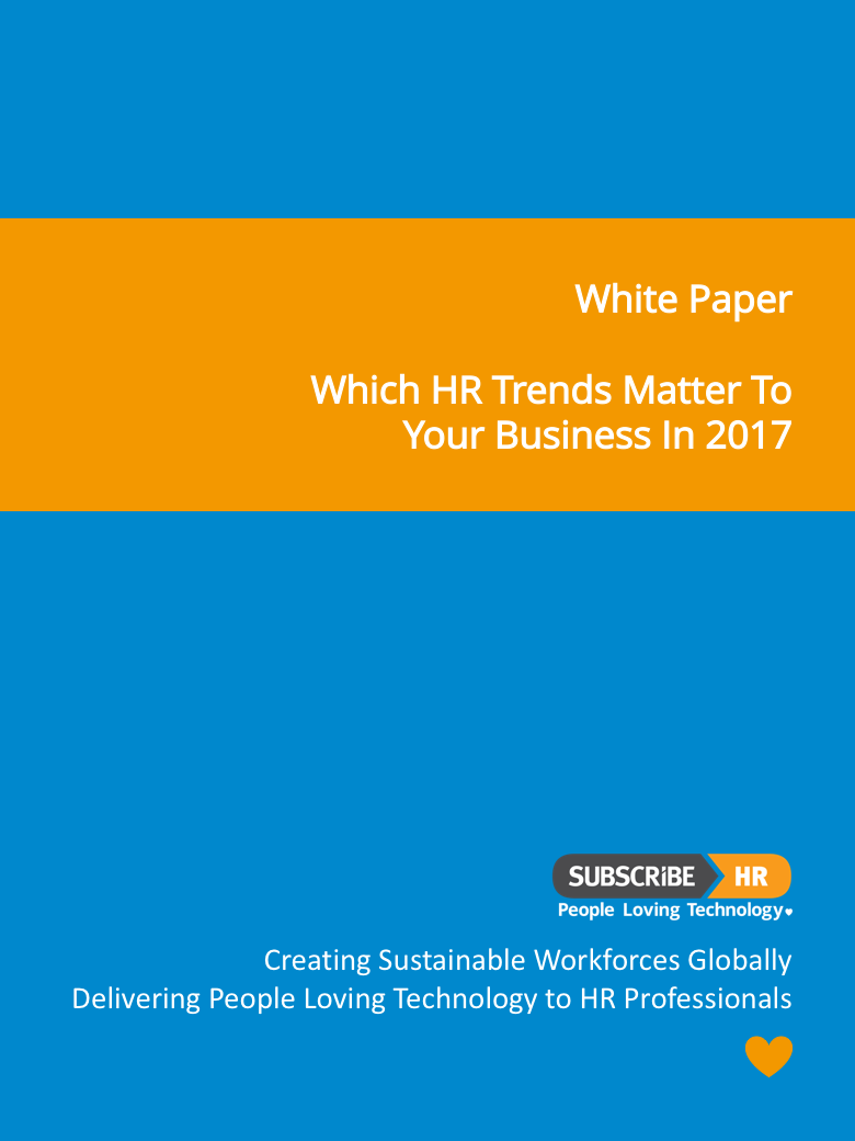 SHR Cover What 2017 HR Trends Matter to your Business