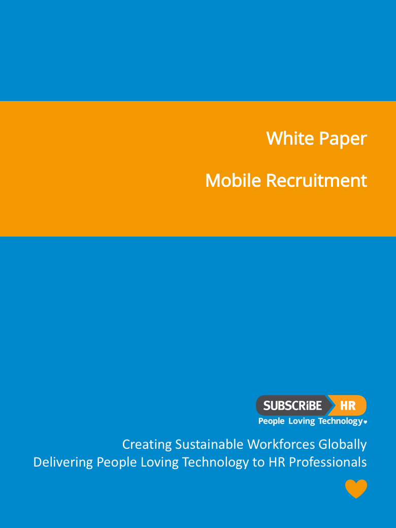 Subscribe-HR White Paper Mobile Recruitment