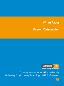 Subscribe-HR White Paper Payroll Outsourcing