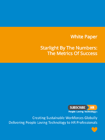 Subscribe-HR White Paper Starlight By The Numbers: The Metrics of Success