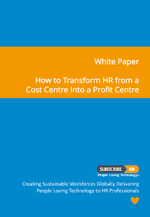 Subscribe-HR White Paper Transform HR From A Cost Centre To A Profit Centre