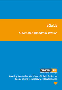 Subscribe-HR Automated HR Administration eGuide