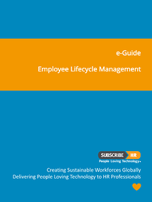 Subscribe-HR e-Guide Cover Automated Employee Lifecycle Management