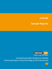 Subscribe-HR e-Guide Sample Reports