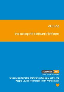 Subscribe-HR eGuide For Evaluating HR Software Platforms
