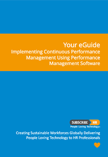 Subscribe-HR eGuide Implementing Performance Reviews- HR Software