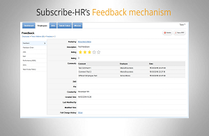 Subscribe-HR HR Software Performance Management Instant Feedback