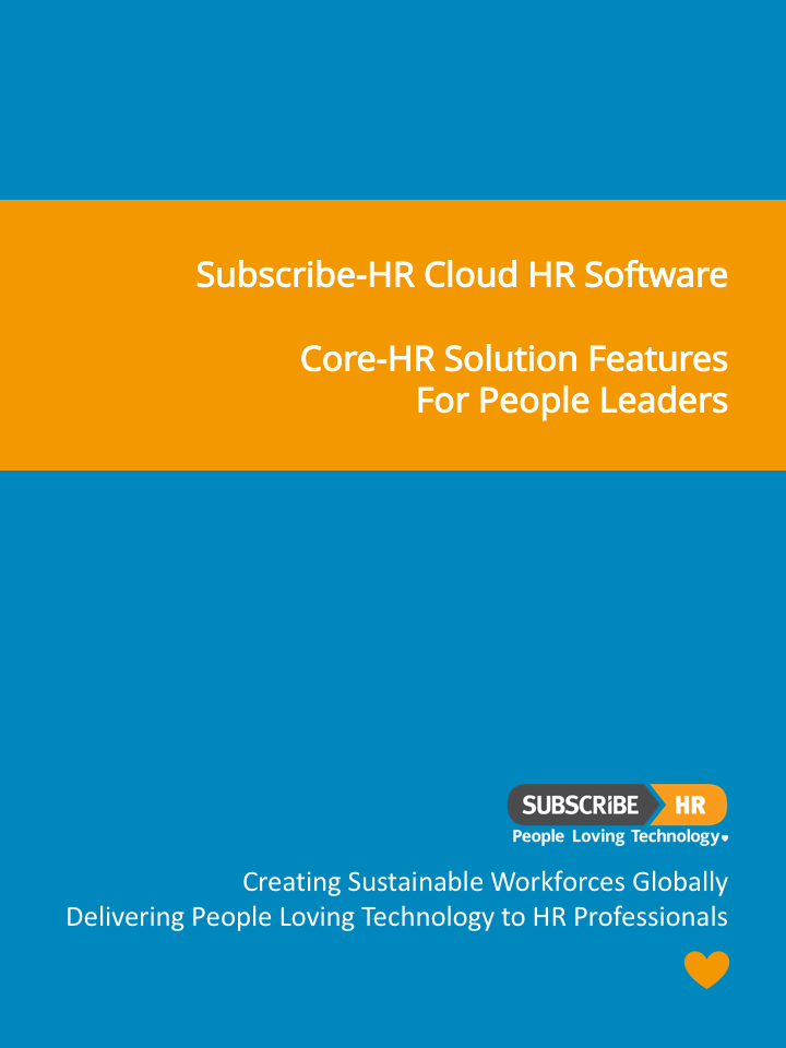 Subscribe-HR Cloud HR Software Core-HR Solution Features