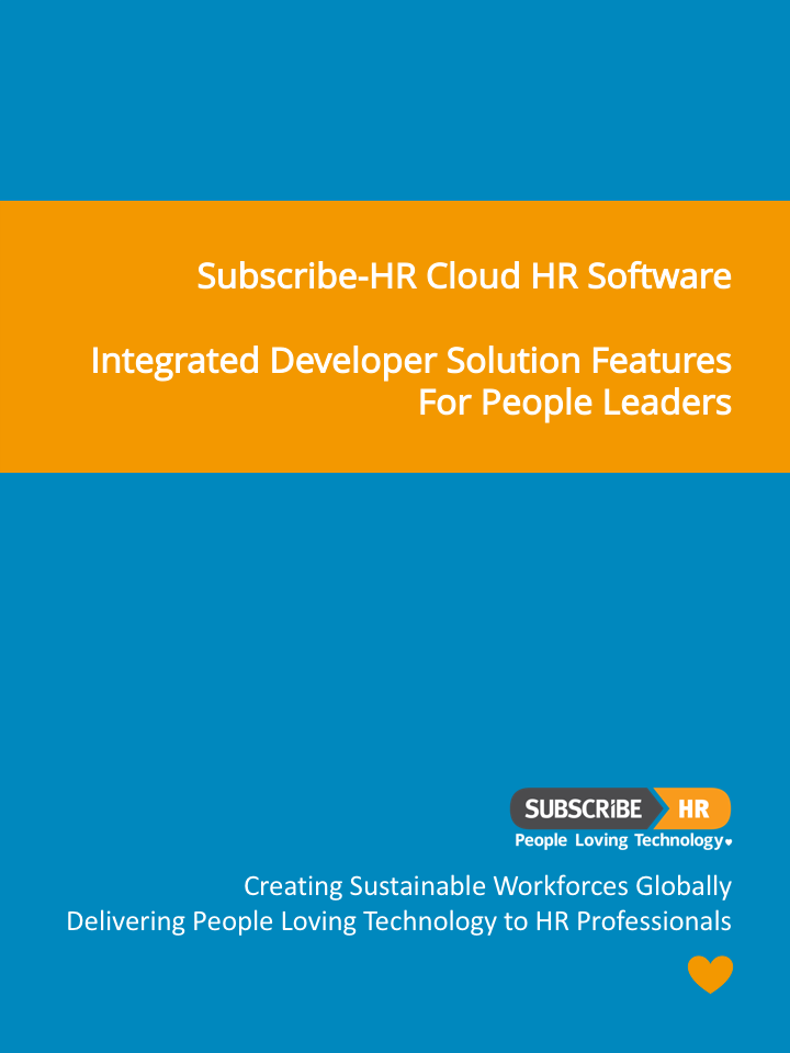 Subscribe-HR Cloud HR Software Developer Solution Features