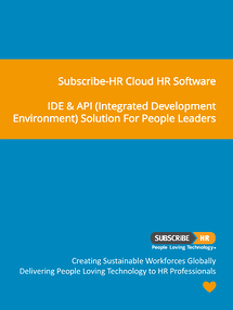 Subscribe-HR Cloud HR Software IDE & API Solution