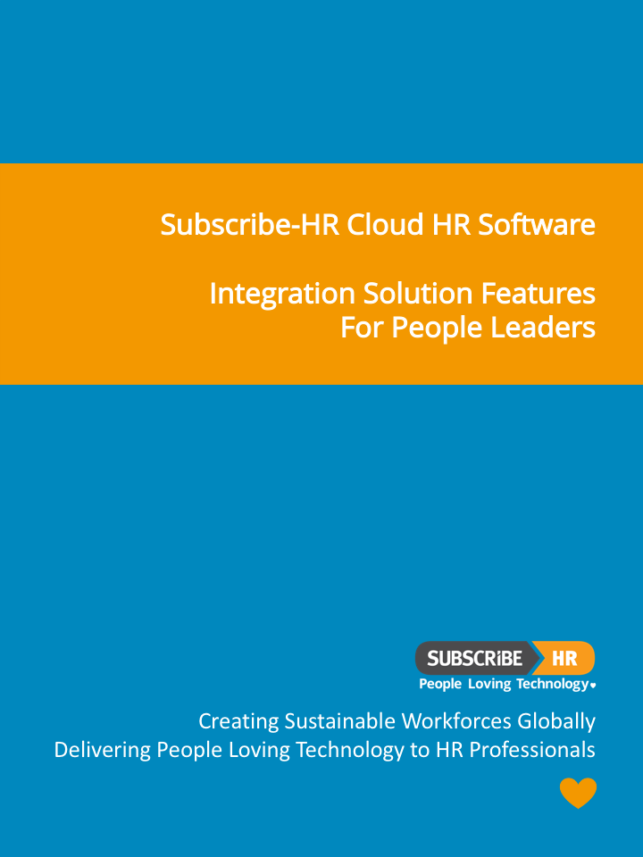 Subscribe-HR Cloud HR Software Integration Solution Features