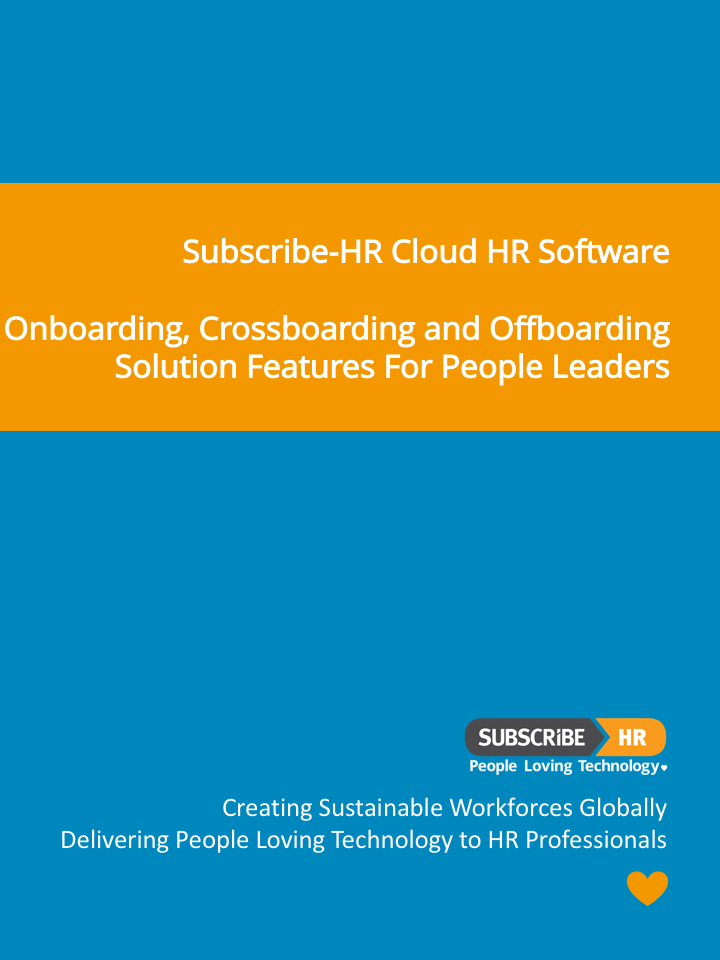 Subscribe-HR-Cloud HR Software Onboarding Software Solution Features