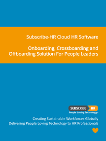 Subscribe-HR-Cloud HR Software Onboarding Software Solution