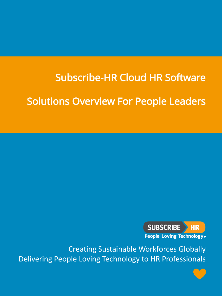 Subscribe-HR Cloud HR Software General Overview