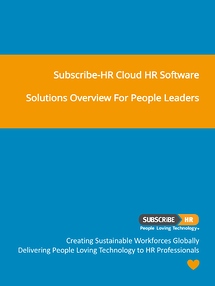 Subscribe-HR Cloud HR Software Solutions Overview