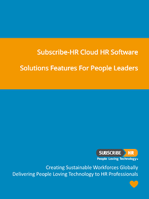 Subscribe-HR Cloud HR Solution Features And Functionality Overview