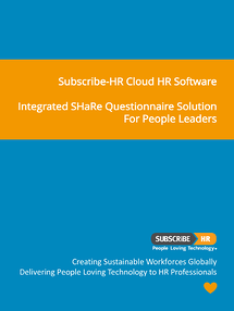 Subscribe-HR Cloud HR Software SHaRe Questionnaire Solution
