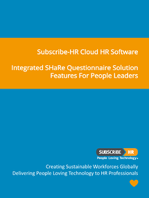 Subscribe-HR Cloud HR Software SHaRe Questionnaire Solution Features