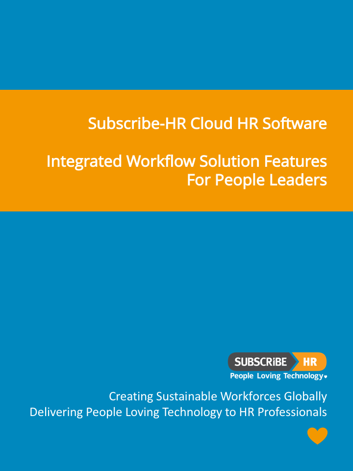 Subscribe-HR Cloud HR Software Workflow Solution Features