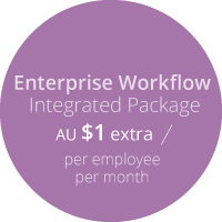 Subscribe-HR Human Resource Management Software Enterprise Workflow Pricing AUD