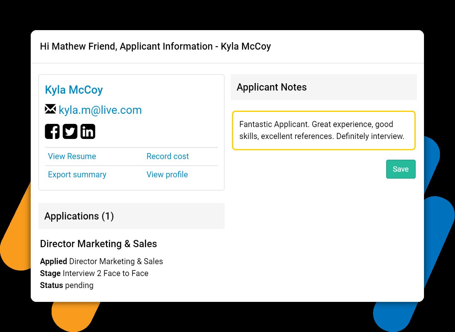 e-Recruitment Software
