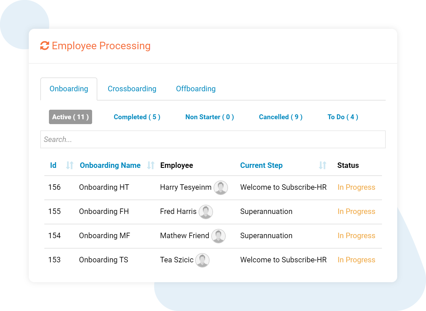 Subscribe-HR Employee Onboarding Software