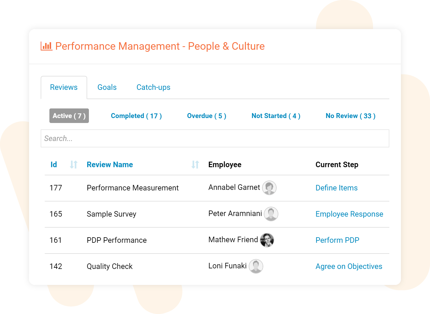 Subscribe-HR Performance Management Software