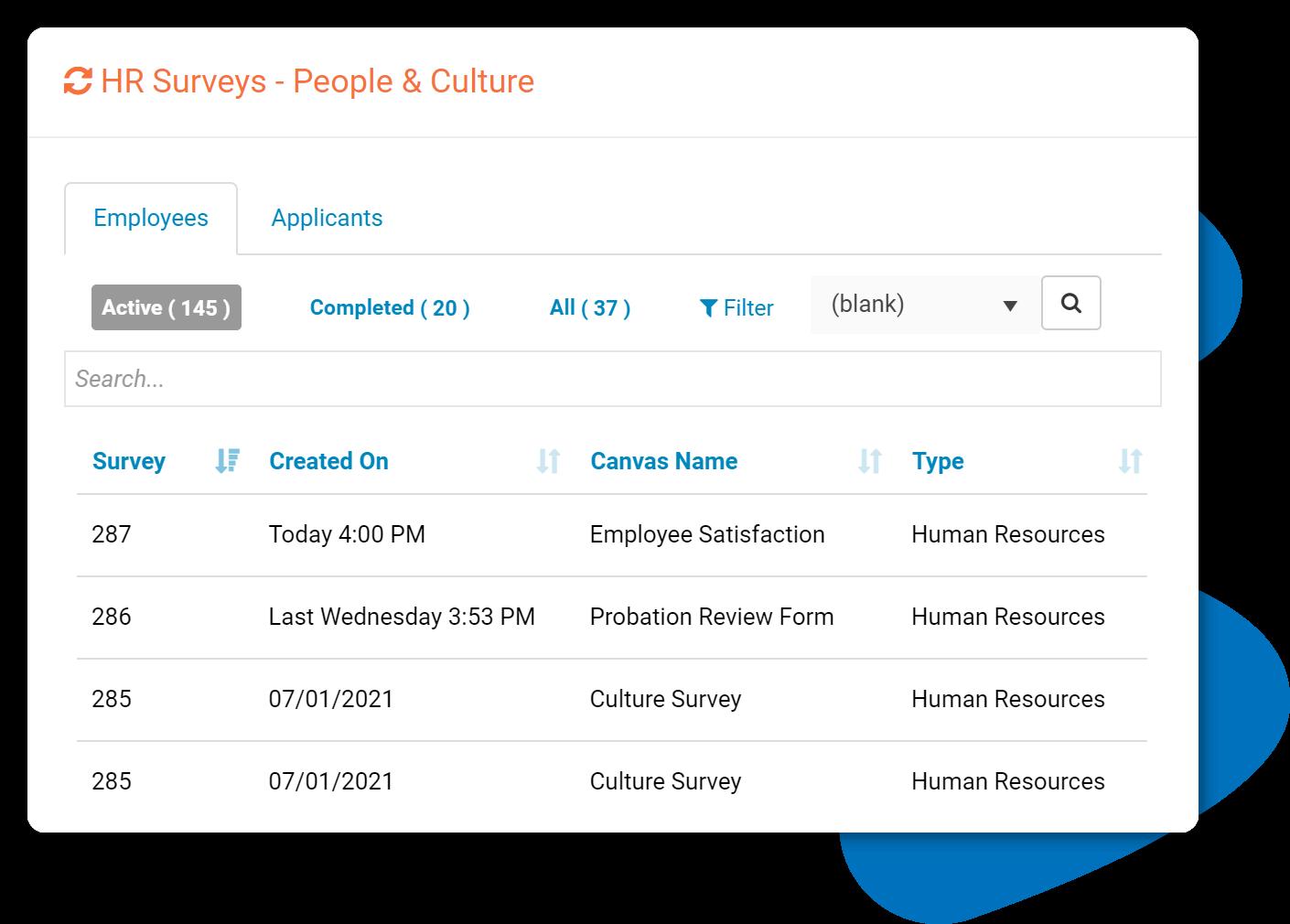 Subscribe-HR HR Survey Software