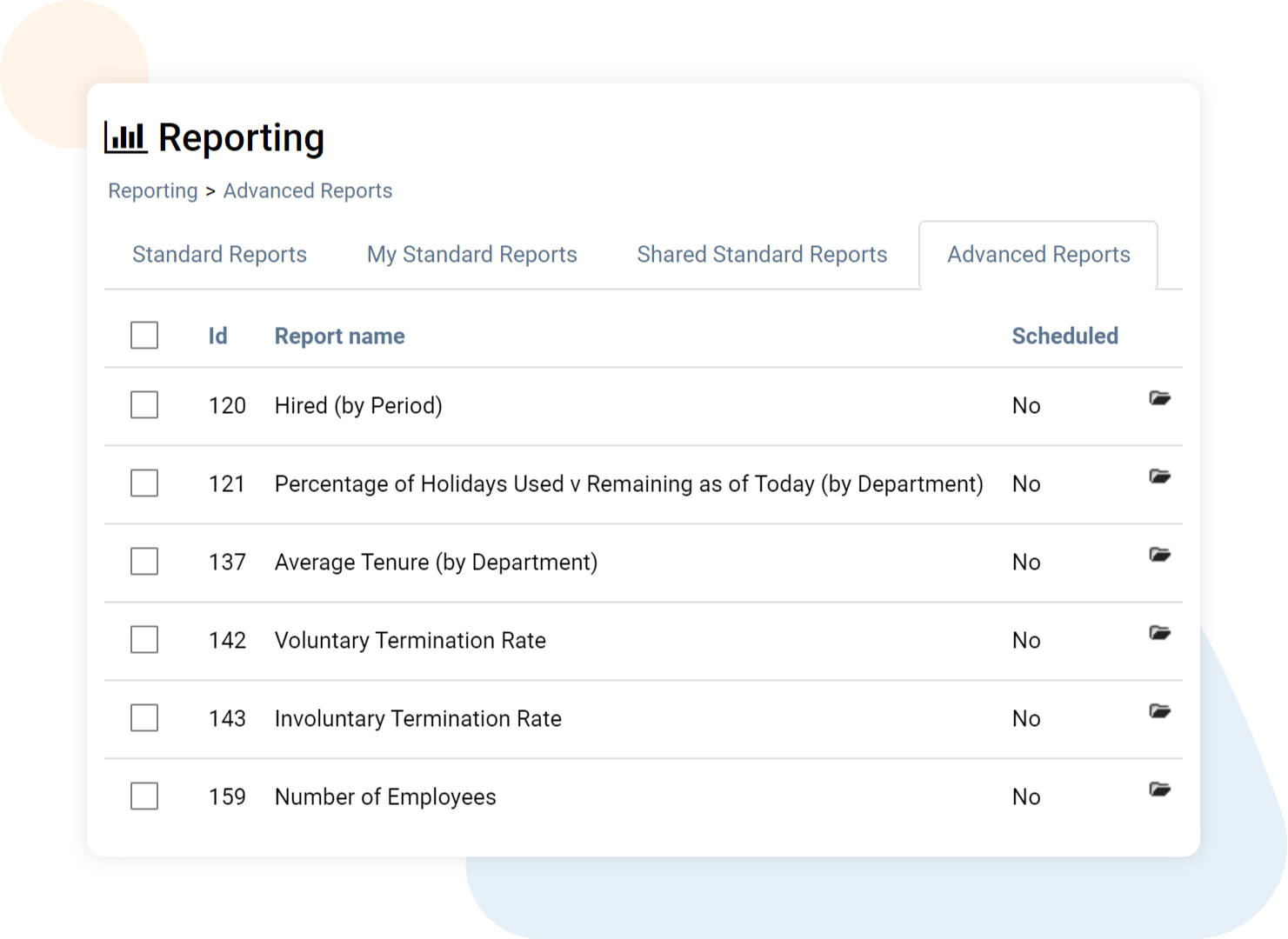 Reporting HR Software